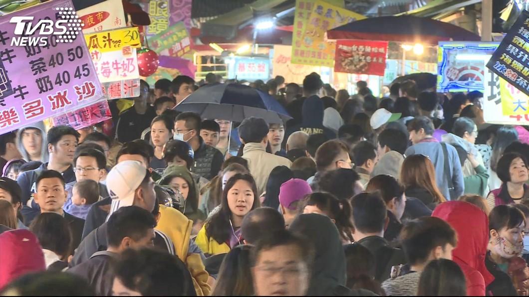 圖/TVBS 建商擬都更整合 湳雅夜市攤位「少一半」