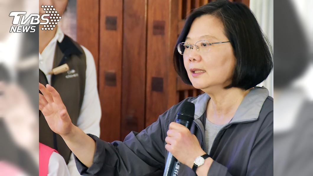 圖/中央社資料照 蔡總統:台灣面對假訊息 正如歐洲面對恐怖主義