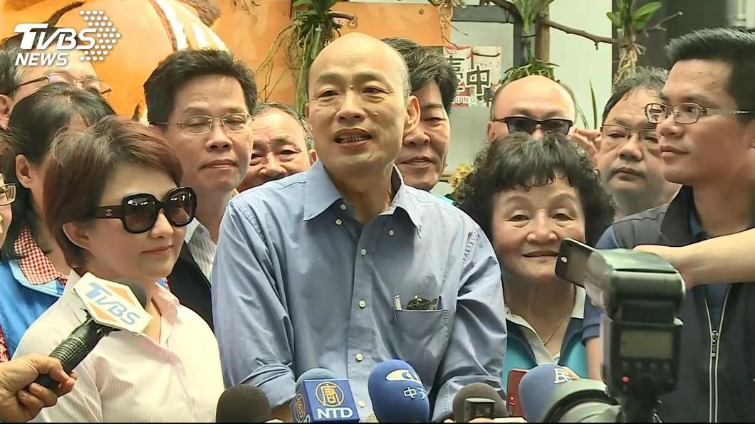 圖/TVBS資料畫面 不出席韓國瑜中市造勢場 盧秀燕臉書遭韓粉灌爆