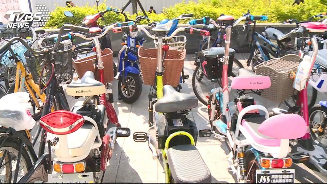 圖/TVBS 電動自行車改裝逾速限25公里 立委提案提高罰鍰