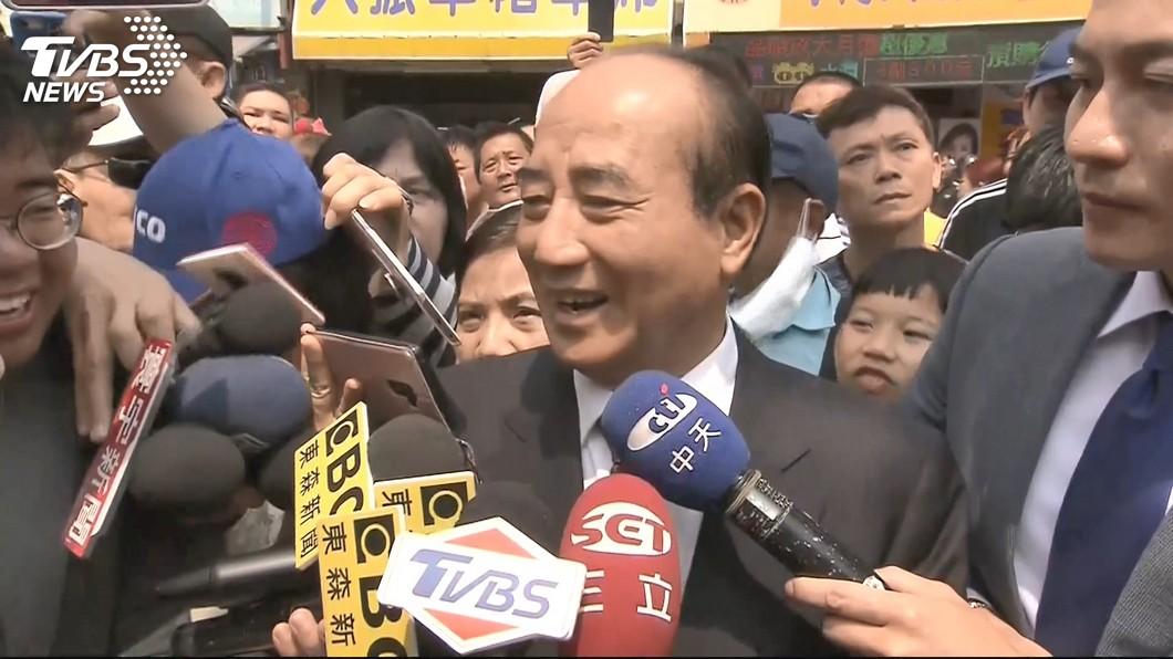 圖/TVBS 談總統初選 王金平:依照黨的制度走
