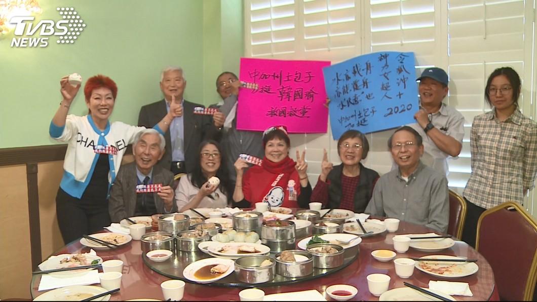 圖/TVBS 加州韓粉過台灣時間 零時差追韓