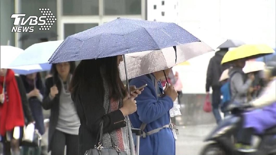示意圖/TVBS 出門帶傘!明起雨「連下6天」 專家曝2波明顯降雨