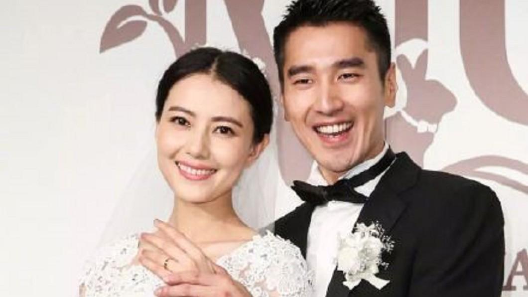 圖/翻攝自微博 「終於可以說是的!」趙又廷結婚5年宣布高圓圓懷孕