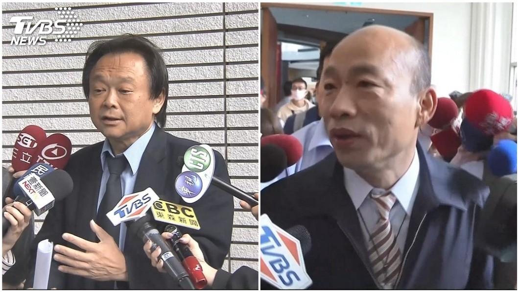 民進黨台北市議員王世堅接受廣播節目專訪時提到,他支持韓國瑜代表藍營參選2020,還說韓國瑜是民進黨的天菜。(合成圖/TVBS資料圖) 力拱韓國瑜選2020總統 王世堅讚:他是民進黨的天菜