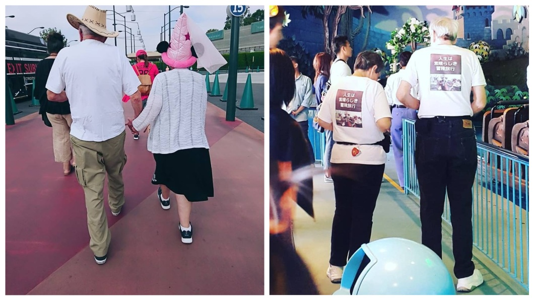 也有網友分享其他恩愛的老夫妻照片。(圖/翻攝自爆笑公社)