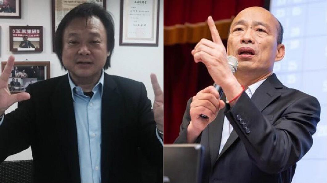 合成圖/TVBS 「韓神不死韓粉不止」 王世堅轟:國民黨已鈔票至上