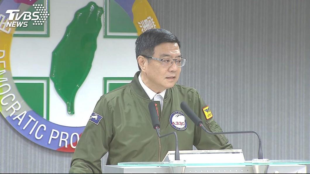 圖/TVBS 游錫堃問鼎下屆立院龍頭? 卓榮泰:尊重黨團自主