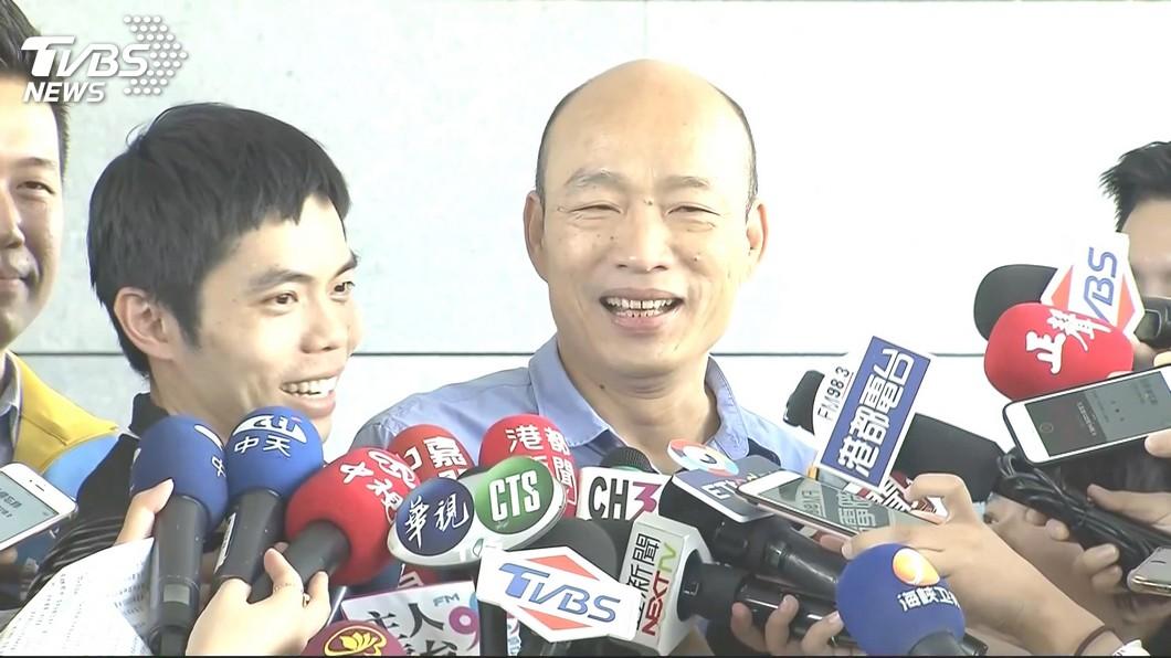 高雄市長韓國瑜。圖/TVBS 韓國瑜赴哈佛演講遭質疑?王丹嗆高市府:那是閉門座談