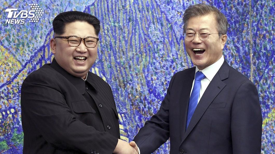 圖/達志影像美聯社 朝鮮半島非核僵局 文在寅有意再會金正恩