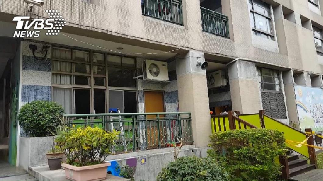 新北市一名女老師罰小二男童在教室外陽台午休,次數達到15次。(圖/TVBS) 罰小二男童「陽台午休」15次 女師辯:其他老師也這樣