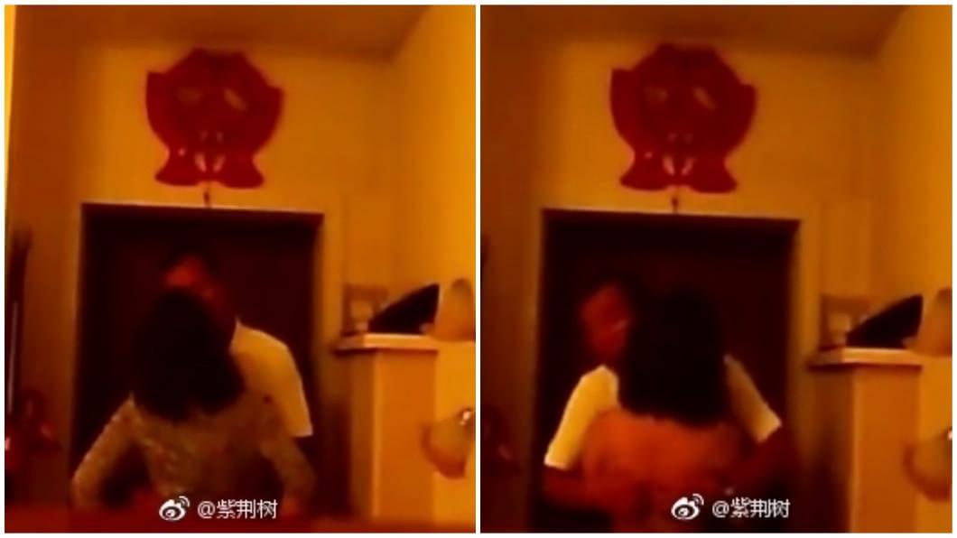 黑龍江一名男子將行車紀錄器拔下帶回家修理,沒想到卻意外拍到妻子出軌的畫面,讓他心碎。(圖/翻攝自微博)