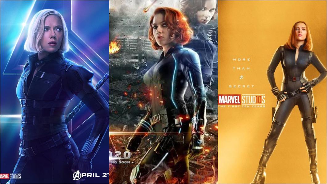 圖/翻攝自Avengers官方臉書 被狗仔逼入警局 黑寡婦大怒:只能跟黛妃一樣死?