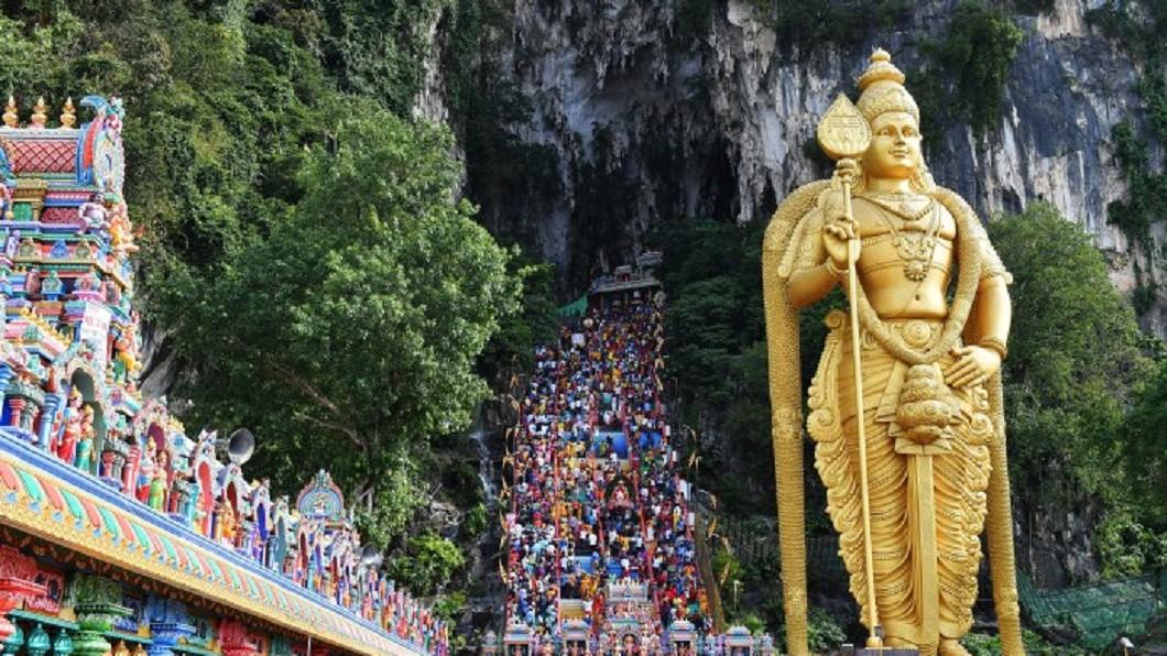馬來西亞親子景點-黑風洞。圖/Tourism Malaysia