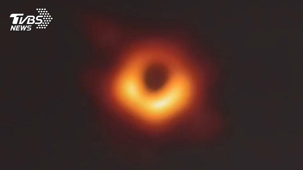 圖/中研院提供 史上首見!超大質量黑洞照曝光 原來長這樣