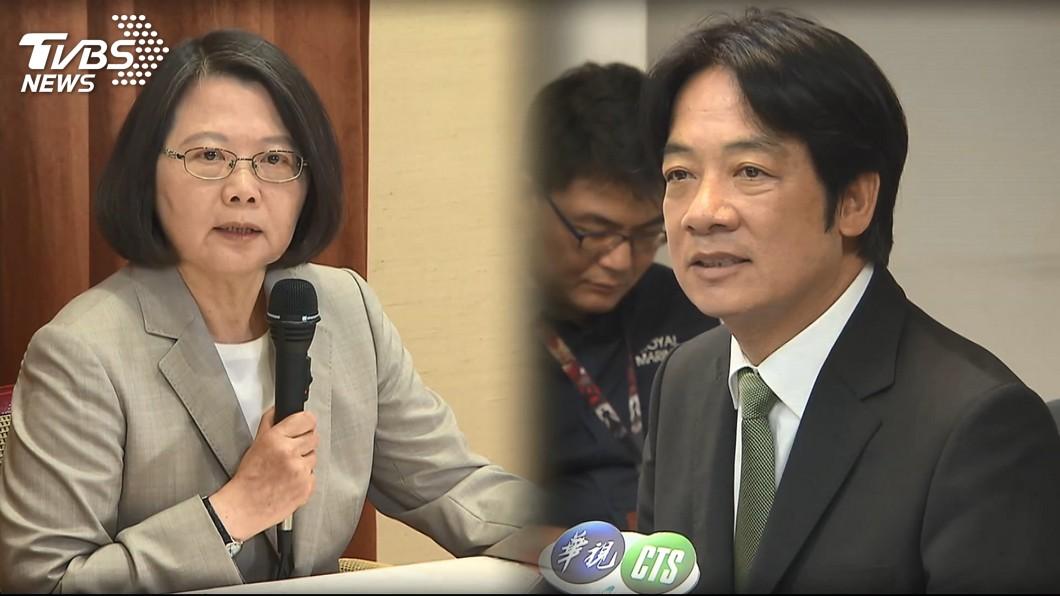 圖/TVBS 總統:支持者希望全黨團結 不在意初選誰輸誰贏