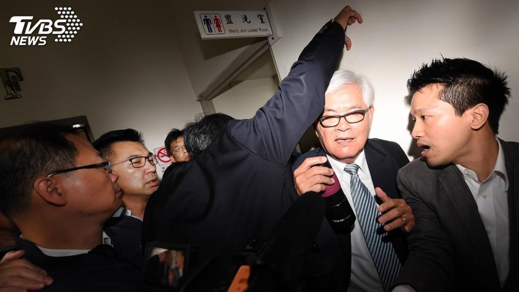 圖/中央社 藍杯葛中選會主委同意案 李進勇進不了內政委員會