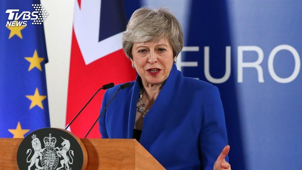 圖/達志影像路透社 英國脫歐陷僵局 傳梅伊被要求下週確定請辭時間