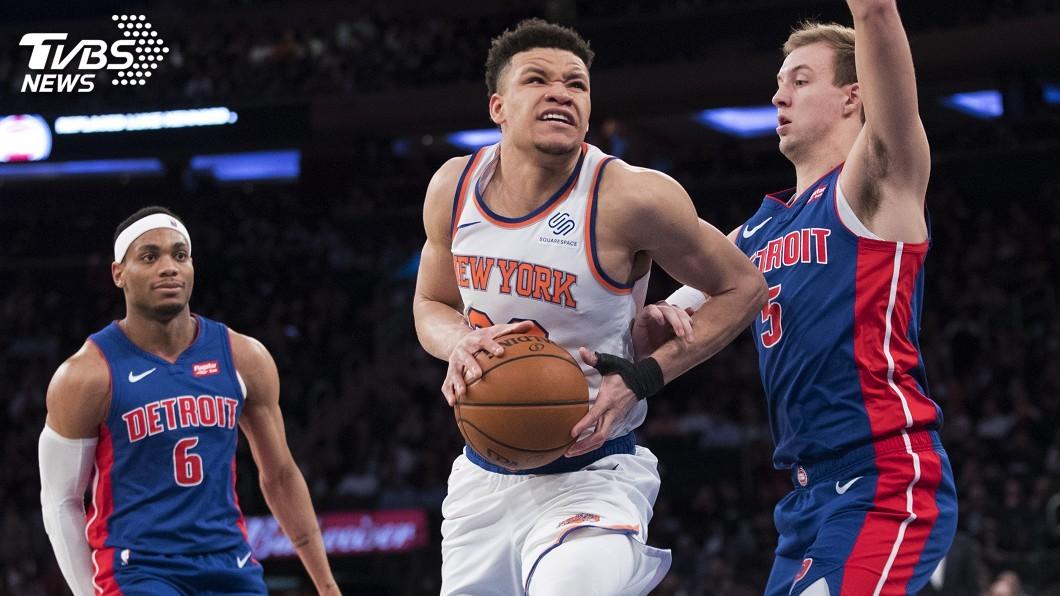 圖/達志影像美聯社 活塞扳倒尼克 東區第8種子晉級NBA季後賽