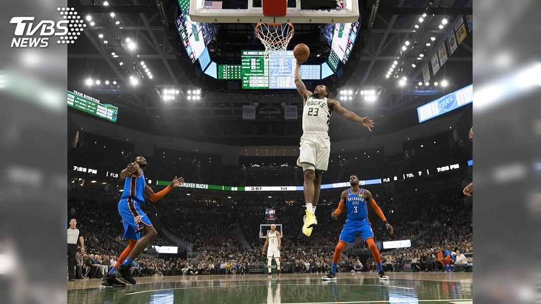 圖/達志影像路透社 NBA例行賽落幕 公鹿戰績全聯盟最佳