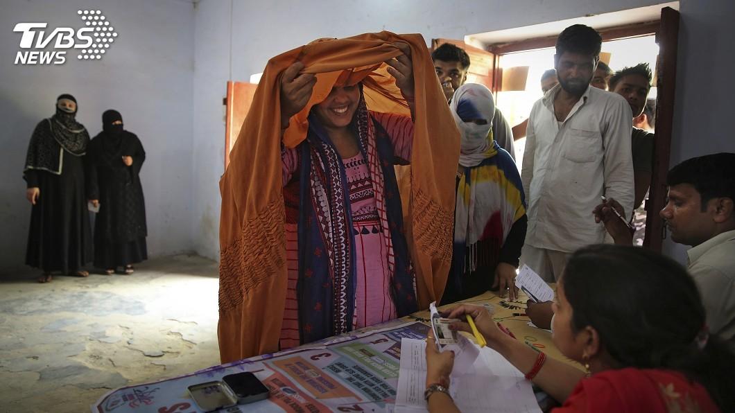 圖/達志影像美聯社 地表最大民主盛事 印度9億選民開始投票