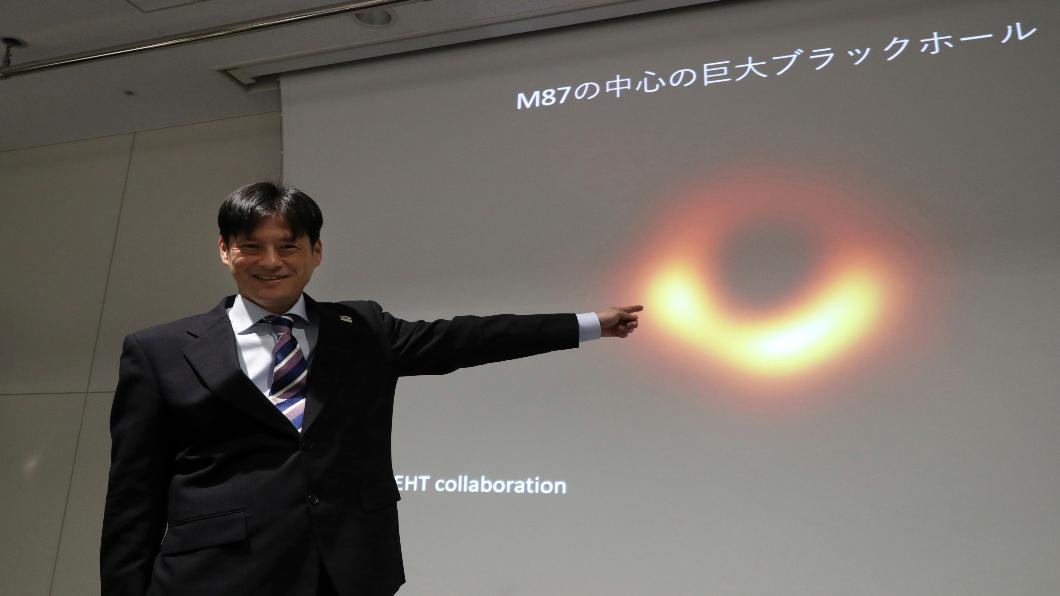 圖/達志影像美聯社 六國科學家合力觀測 史上首張黑洞照曝光