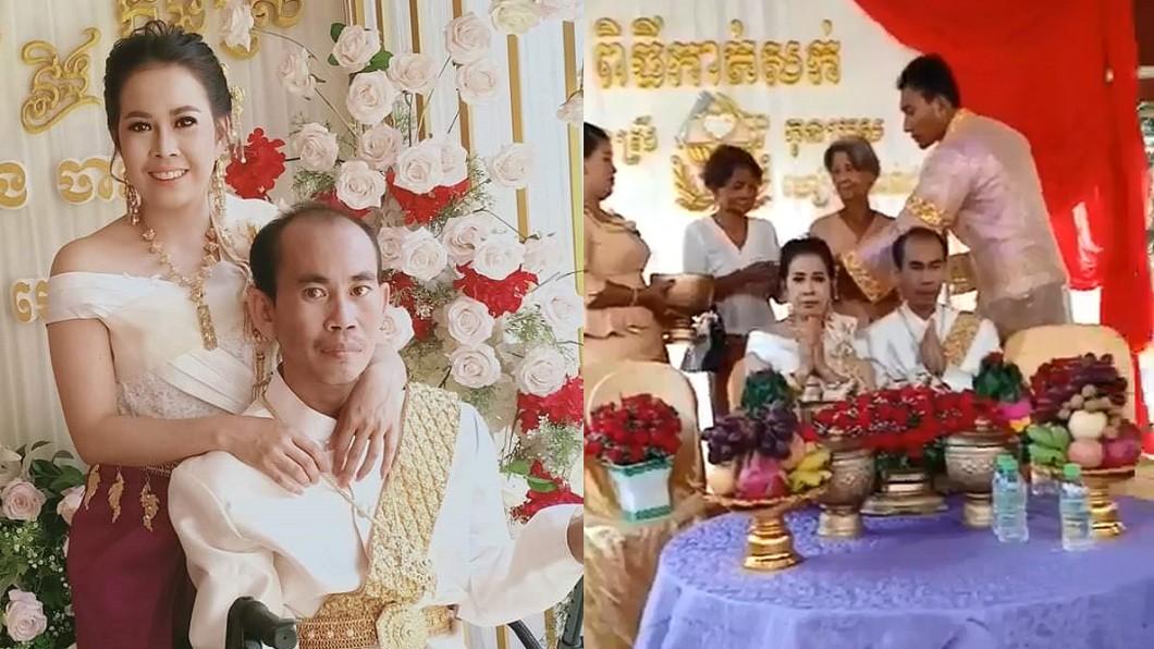 圖/翻攝自 Sopha Len 臉書 新娘是自己的親妹妹 真相曝光網力挺:要幸福!