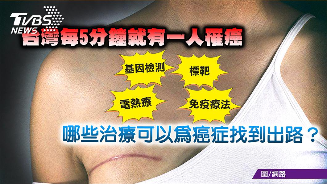圖/TVBS提供 健康大計搭配高CP值抗癌法  癌症非絕症!