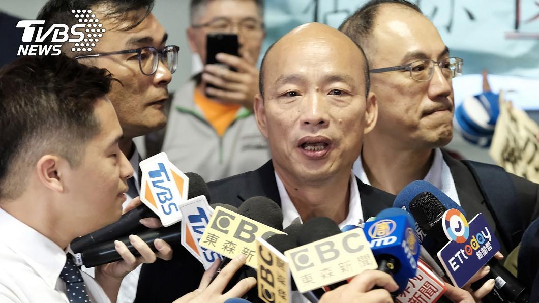 韓國瑜將在11日到哈佛大學進行交流。圖/中央社 哈佛證實「有邀請韓國瑜」 王丹:媒體提問刻意誤導