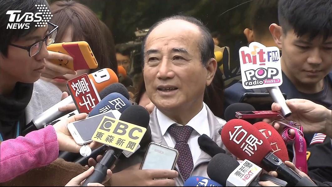 圖/TVBS 王金平:依黨機制競選 黨員都有參選權