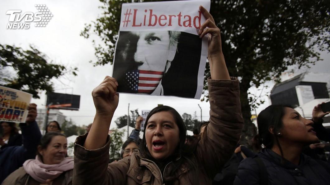 圖/達志影像美聯社 「行為脫序、糞便塗牆」 厄瓜多不庇護阿尚吉