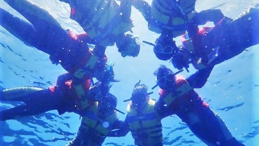 澎湖水上活動-浮潛體驗。圖/Tripbaa趣吧!亞洲自由行專家