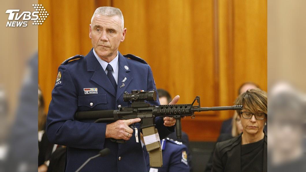 圖/TVBS 紐西蘭槍管效率驚人 原持有槍械政府買回