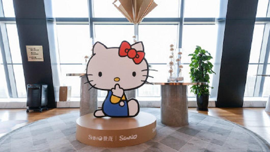 圖/翻攝自HelloKitty_Sanrio官方微博 地產商與IP新碰撞 凱蒂貓樂園開張