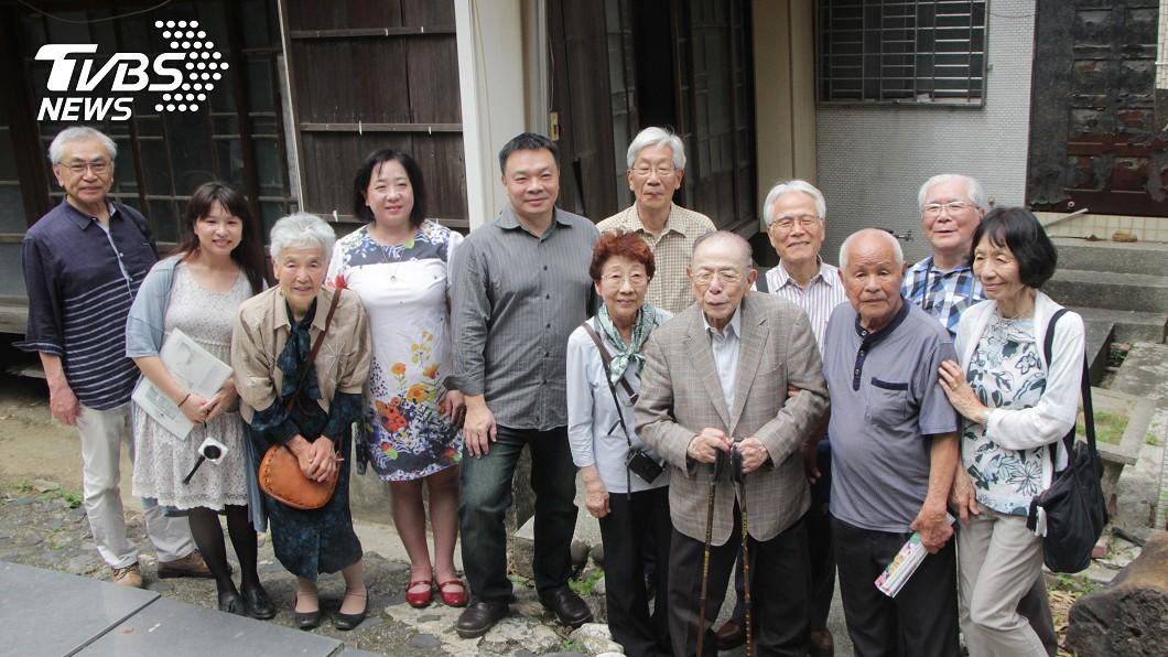 圖/高思博提供 相隔數十年 灣生日本人再訪兒時台南老家