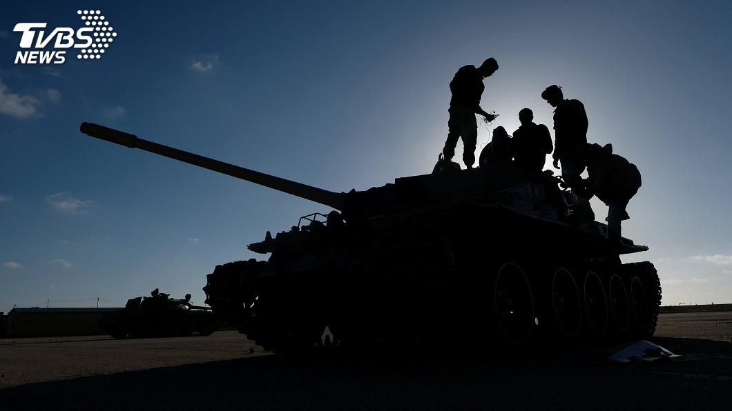 圖/達志影像路透社 利比亞衝突不止 政府軍擊落一架叛軍戰機