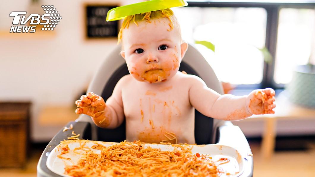 示意圖,圖/TVBS 訓練寶寶吃飯像戰爭?專業醫師解答「3大餐椅關鍵」