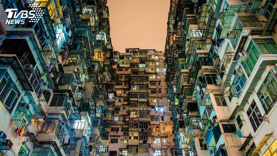示意圖/TVBS 一個香港兩個世界 貧與富月收差達44倍