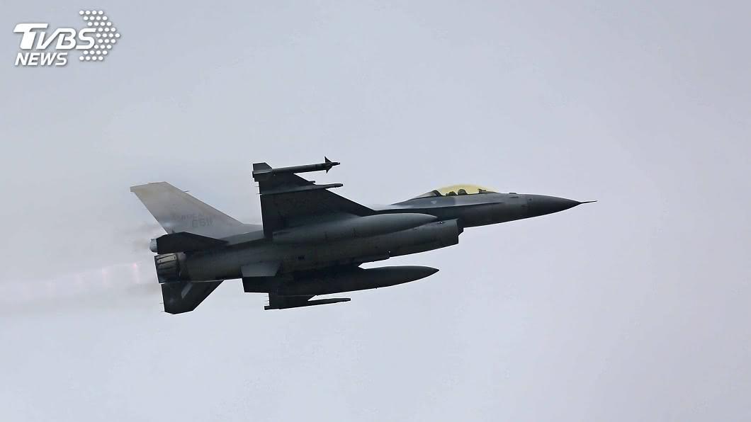 圖/TVBS 感謝美售F-16V戰機 府:大幅強化空中防衛能量