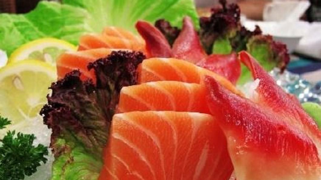 圖/翻攝自莉婧營養師 微博 港查市售生魚片 抽樣九成八驗出重金屬