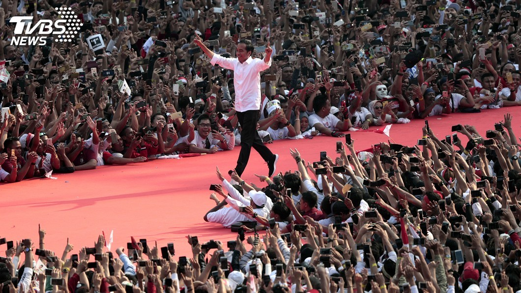 圖/達志影像美聯社 印尼穆斯林麥加朝聖名額增 佐科威選情加分