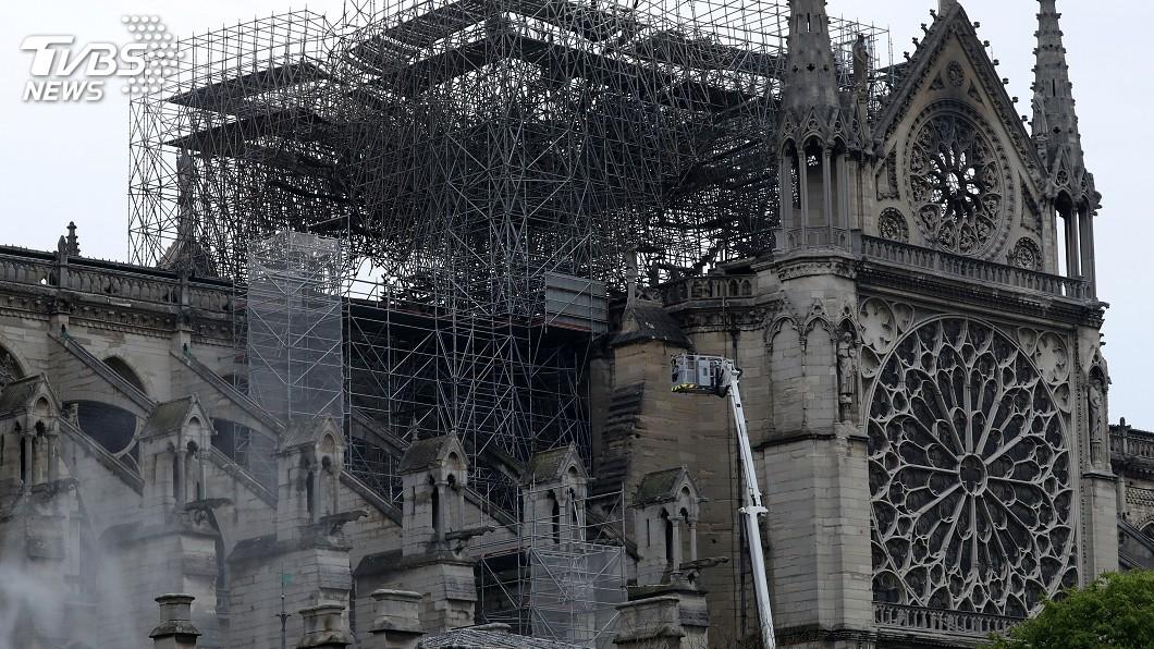 圖/達志影像路透社 火燒聖母院 歷史上同遭祝融的文化遺產