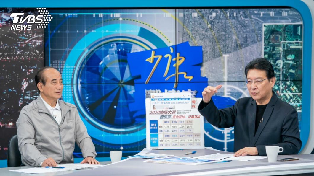 圖/TVBS 被貼「藍皮綠骨」標籤 王金平大喊冤枉