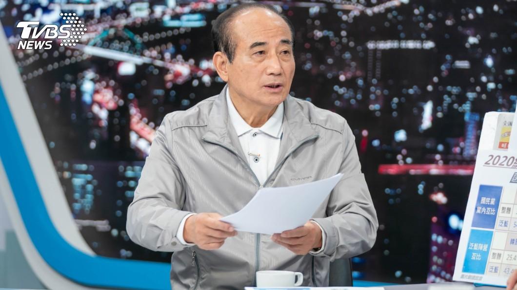 圖/TVBS 主權重疊 王金平:兩岸要重新定位