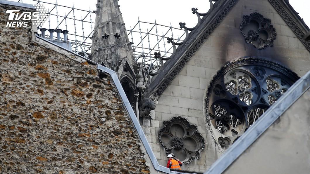 圖/達志影像美聯社 巴黎聖母院重建企業界慷慨解囊 蘋果也響應