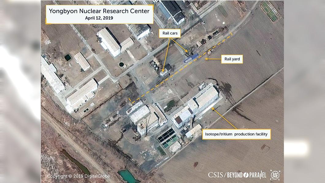 圖/翻攝自CSIS | Center for Strategic & International Studies臉書 北韓核試驗場疑重啟 美智庫拍下衛星影像