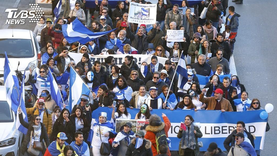 圖/達志影像美聯社 抗議活動將滿周年 尼加瓜拉政府釋636囚
