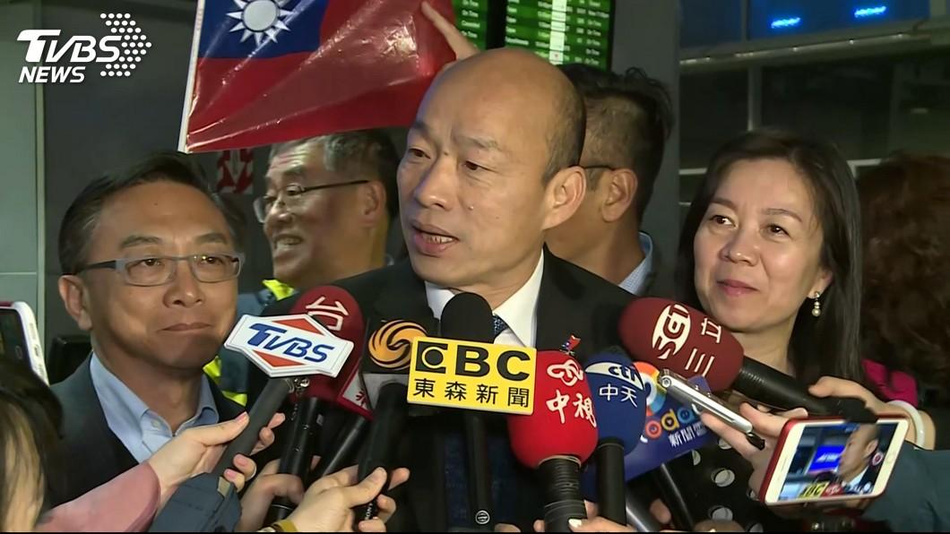 至於黨內基層力拱的高雄市長韓國瑜,唐綺陽則語出驚人地說:他這次不會選。(圖/TVBS)