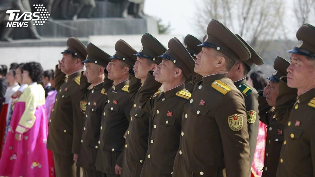 圖/達志影像美聯社 北韓重返「武嚇」老路? 金正恩現身空軍部隊