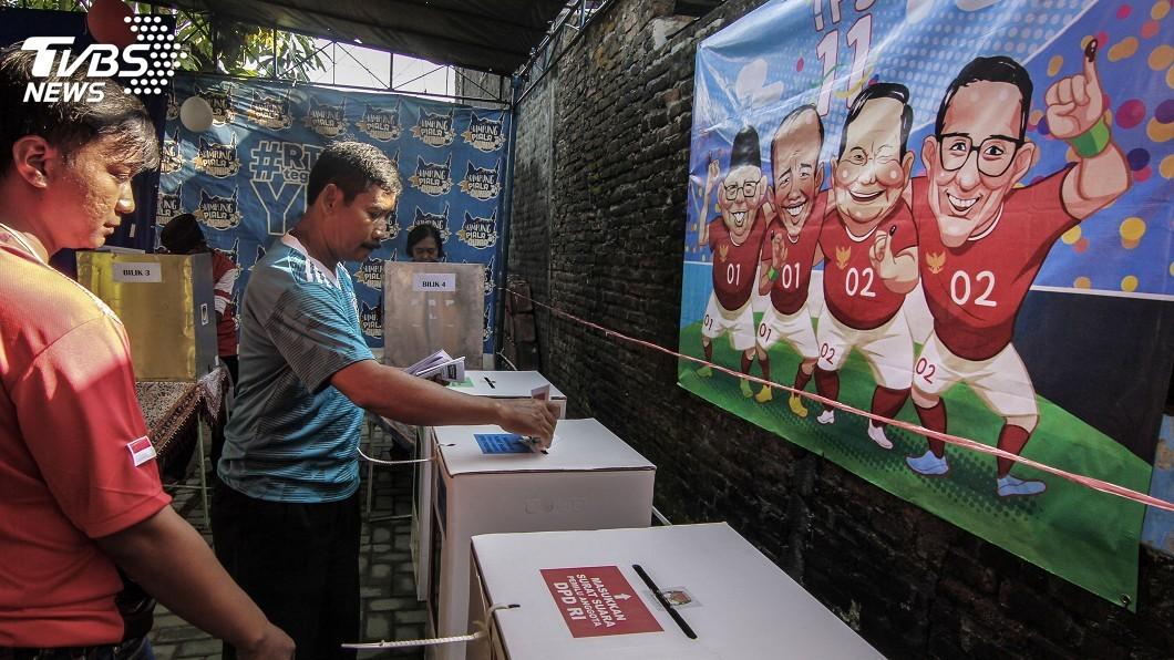 圖/達志影像美聯社 印尼1.9億人投票 「印尼歐巴馬」可望連任